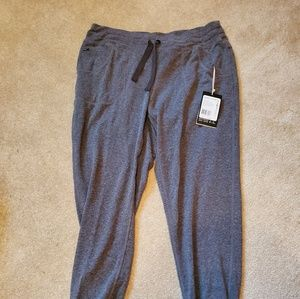 NWT gray Exofficio jogger pants insect repellent